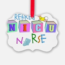 retire NICU Nurse Ornament