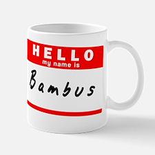 Bambus Mug