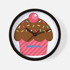 Cupcake3 Wall Clock