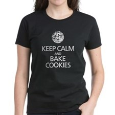Keep Calm Bake Cookies Tee