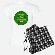 GO-TO-THE-DEVIL-BUTTON Pajamas