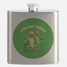 KISS-MY-ASS-BUTTON Flask