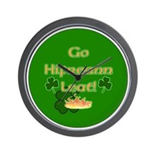 TO-HELL-WITH-YOU-BUTTON Wall Clock