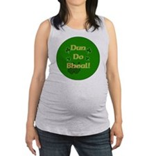 SHUT-YOUR-MOUTH-BUTTON Maternity Tank Top