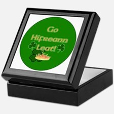 TO-HELL-WITH-YOU-BUTTON Keepsake Box
