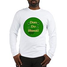 SHUT-YOUR-MOUTH-BUTTON Long Sleeve T-Shirt