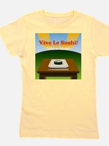 vive_le_sushi_tshirt Girl's Tee