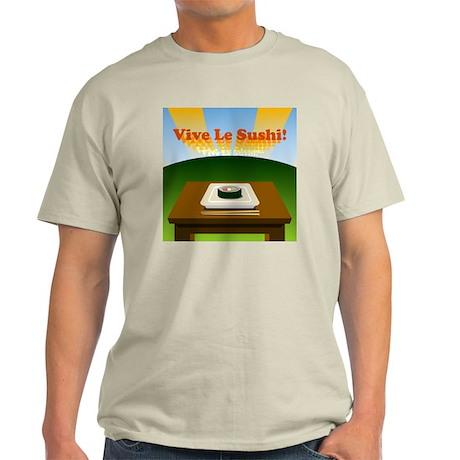 vive_le_sushi_tshirt Light T-Shirt