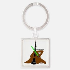 Obeo won png Square Keychain