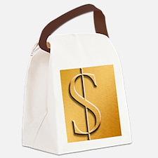 Dollar Canvas Lunch Bag