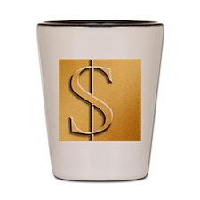 Dollar Shot Glass