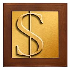 Dollar Framed Tile