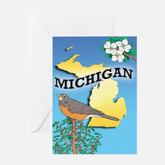 MICHIGAN-iPad Sleeve Greeting Card