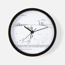 CloakingDevice Wall Clock
