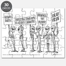 Protestors Puzzle