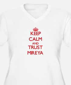 Keep Calm and TRUST Mireya Plus Size T-Shirt