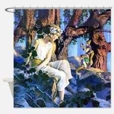 PARRISH GNOMES AND FAIRY PRINCESS_S Shower Curtain