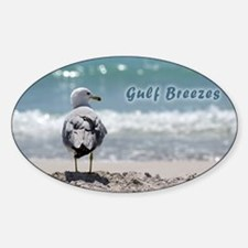 Gray gull Decal