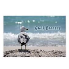 Gray gull Postcards (Package of 8)