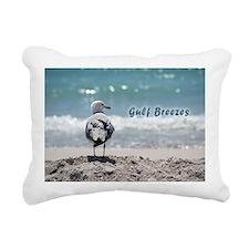 Gray gull Rectangular Canvas Pillow