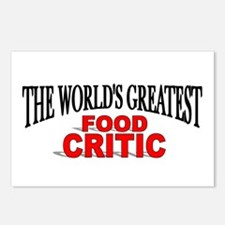 """The World's Greatest Food Critic"" Postcards (Pack"