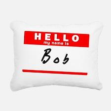 Bob Rectangular Canvas Pillow