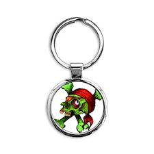 JollyRoger Round Keychain