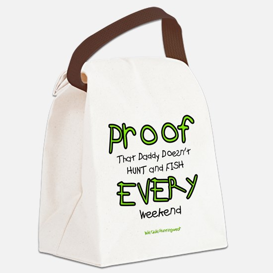 Proof Wild Child Canvas Lunch Bag