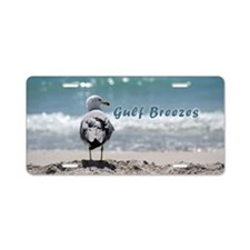 Gray gull Aluminum License Plate