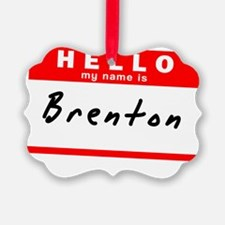 Brenton Ornament