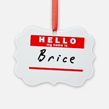 Brice Ornament