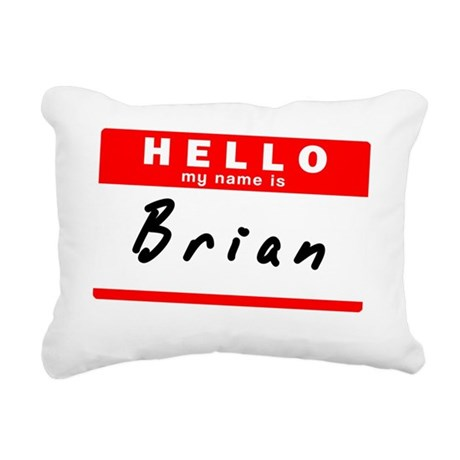 Brian Rectangular Canvas Pillow