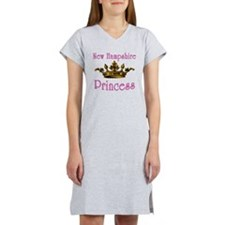 New Hampshire Princess with Tia Women's Nightshirt