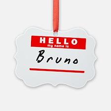 Bruno Ornament