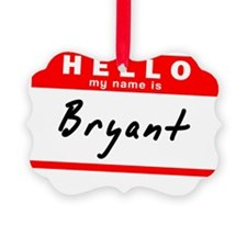Bryant Ornament