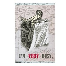 newCard I am very busy Postcards (Package of 8)