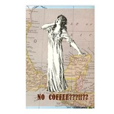 newCard no coffee Postcards (Package of 8)