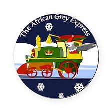 The African Grey Express Cork Coaster