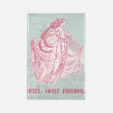 newsweet sweet freedom Rectangle Magnet