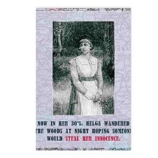 newSteal-her-innocence Postcards (Package of 8)