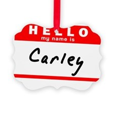 Carley Ornament