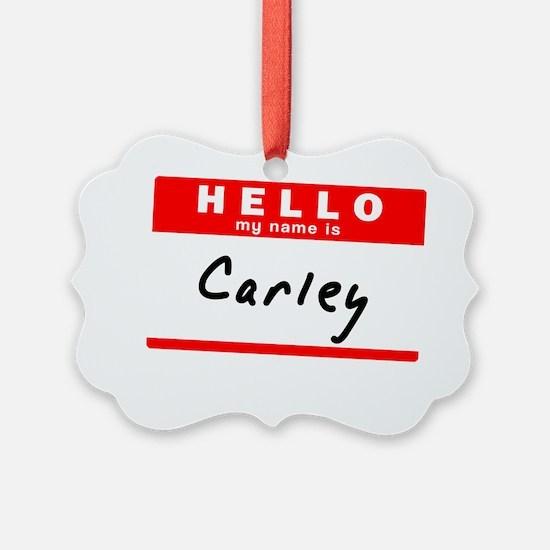 Carley Ornament
