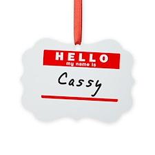 Cassy Ornament