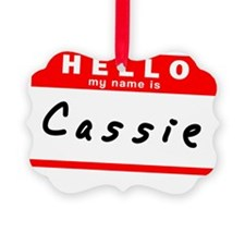 Cassie Ornament