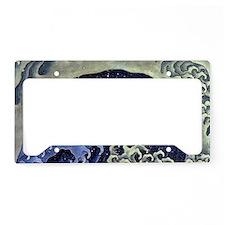 ShoulderBagFeminineWave1 License Plate Holder