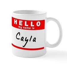 Cayla Small Mug