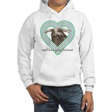 Owl love you forever 10x10 Hoodie