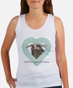 Owl love you forever 10x10 Women's Tank Top