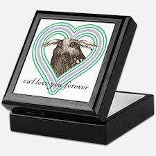 Owl love you forever 10x10 Keepsake Box