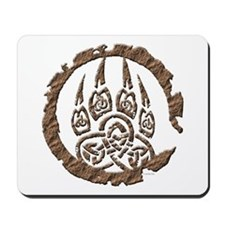 Celtic Stone: Bear Paw Mousepad